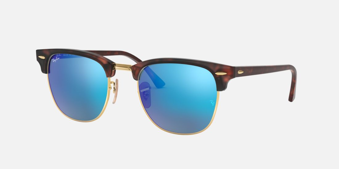 Ray Ban Clubmaster Sunglasses Blue
