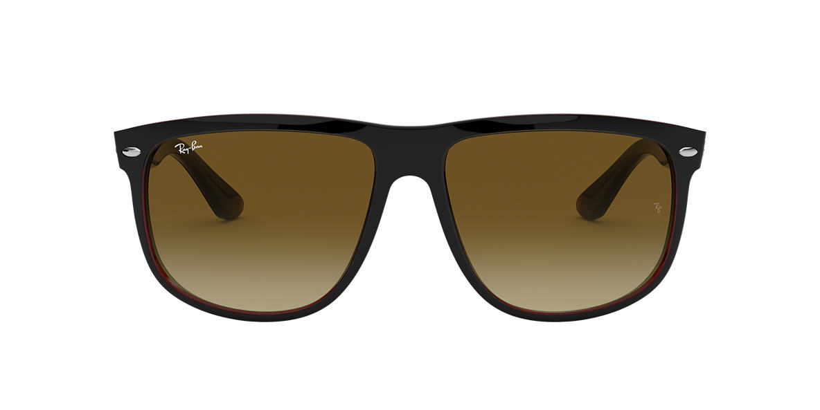 RAY-BAN Black RB4147 60 Brown lenses 60mm