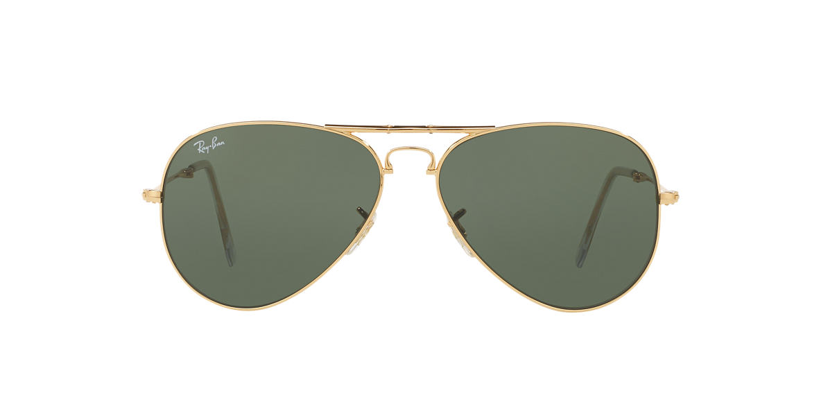 RAY-BAN Multicolor RB3479 58 AVIATOR FOLDING Green lenses 58mm