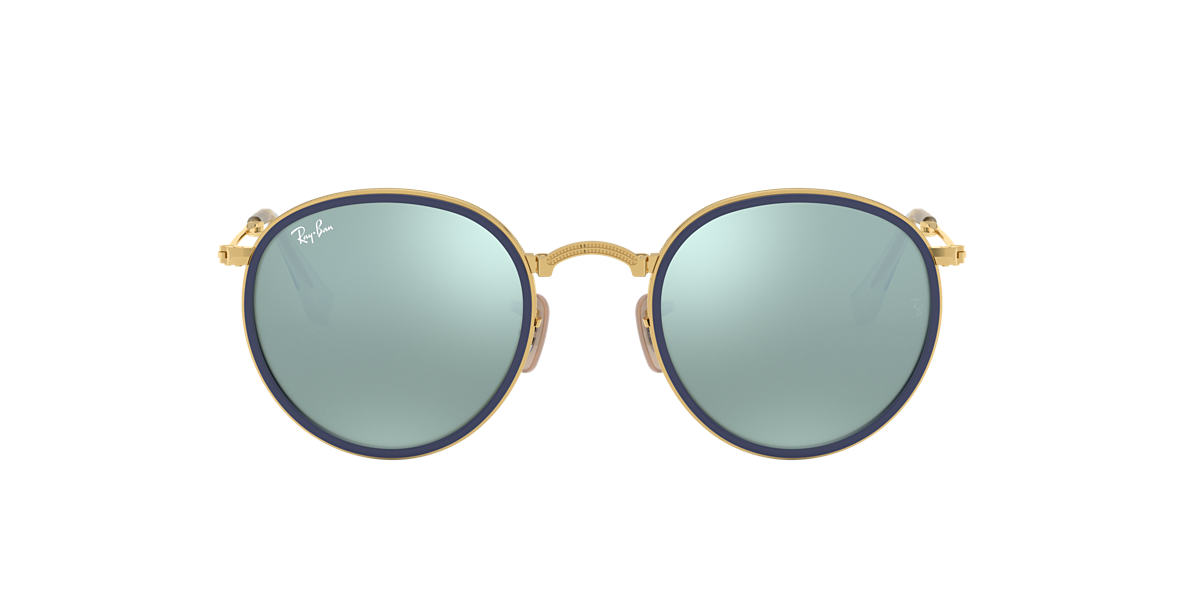 RAY-BAN Gold RB3517 Green lenses 51mm