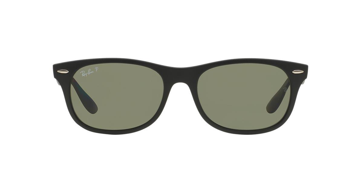 RAY-BAN Black RB4207 55 LITEFORCE Green polarised lenses 55mm