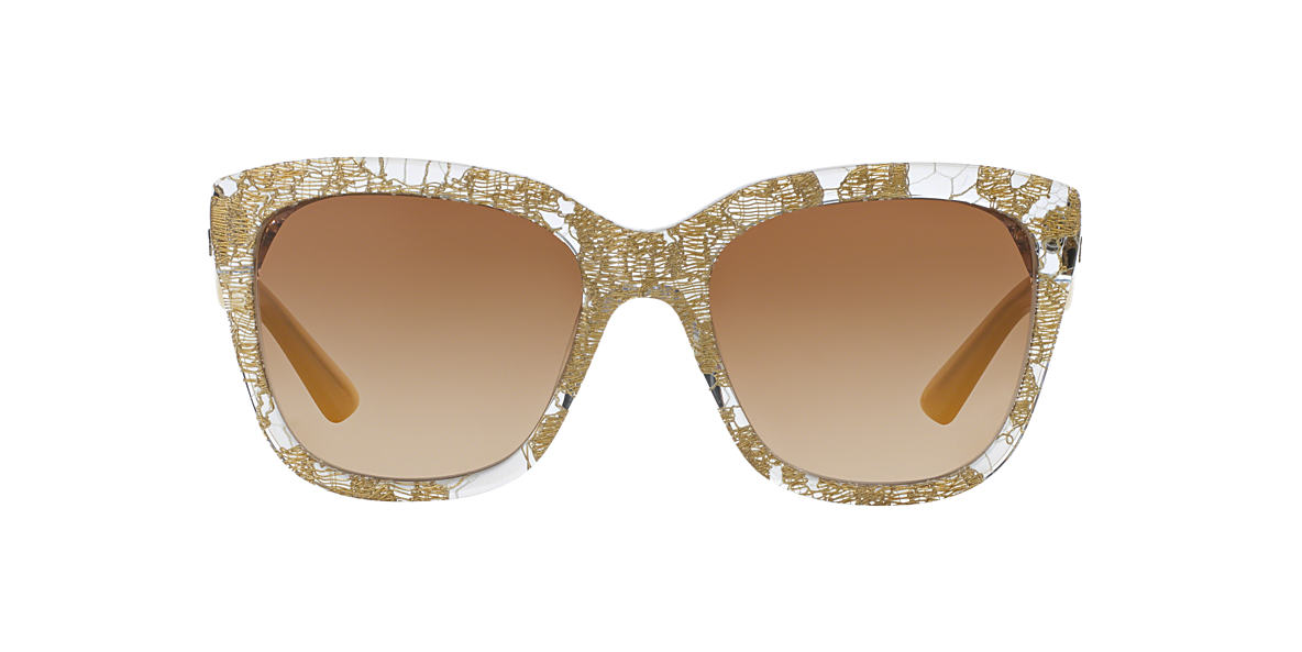 DOLCE and GABBANA Gold DG4226 56 Brown lenses 56mm
