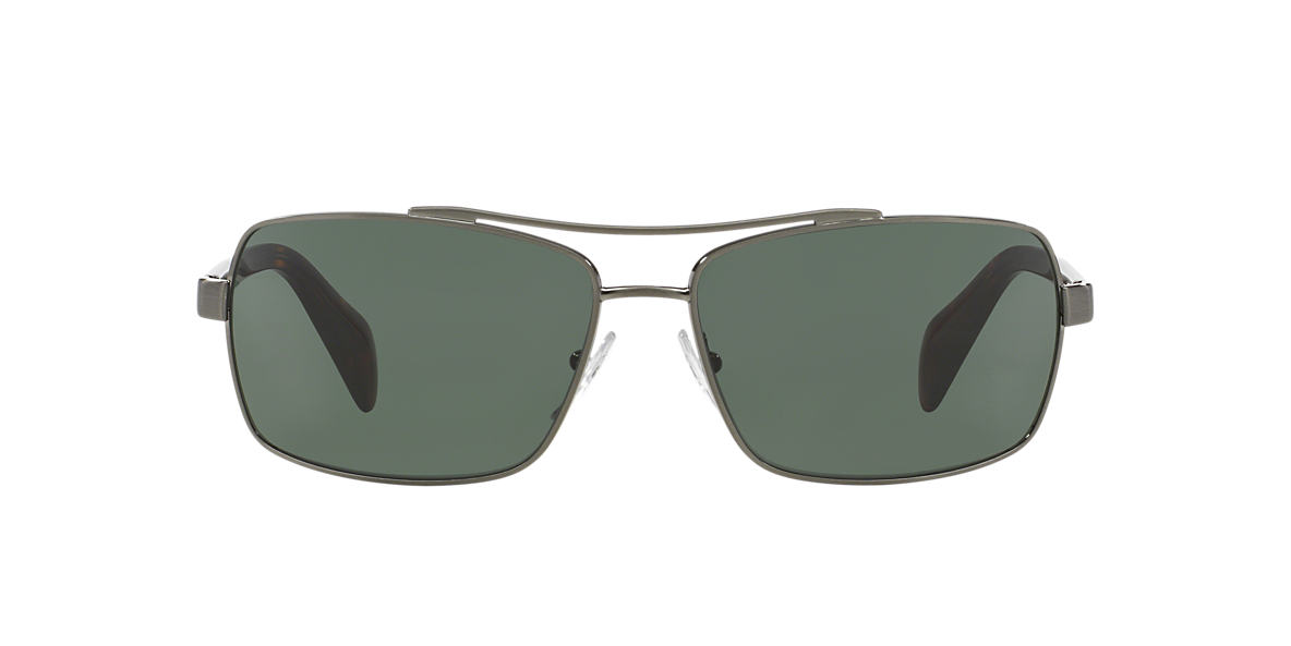 PRADA Gunmetal PR 55QS 63 Grey lenses 63mm