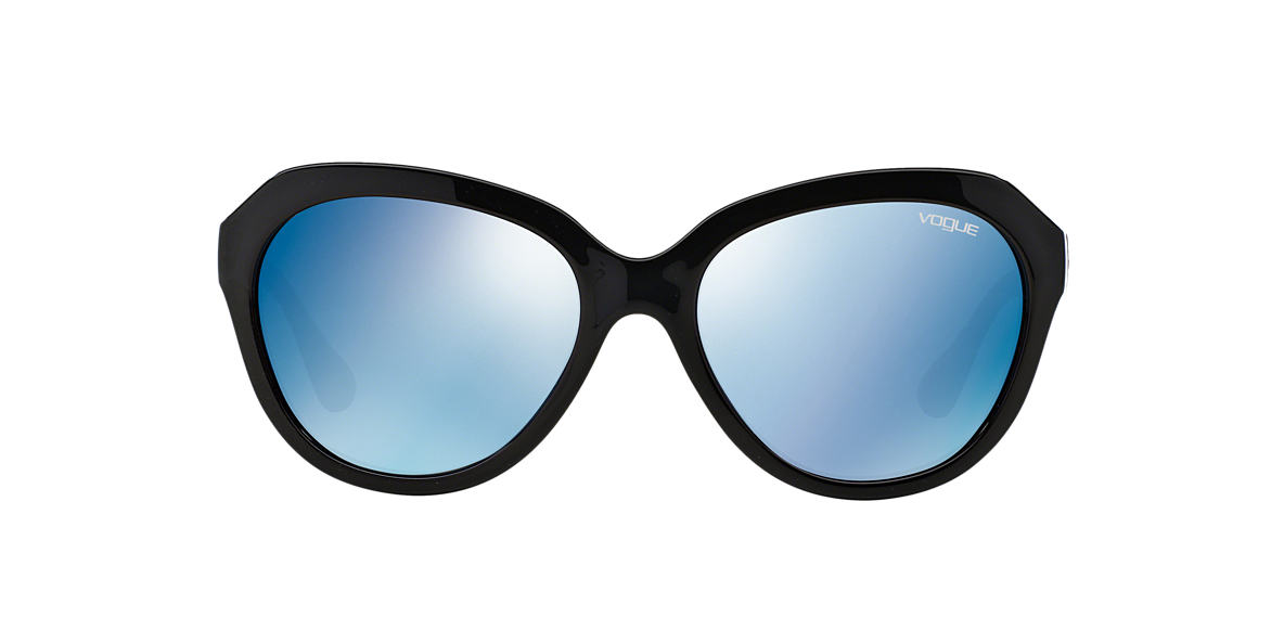 VOGUE LINE Black Matte VO2845S Blue lenses 56mm