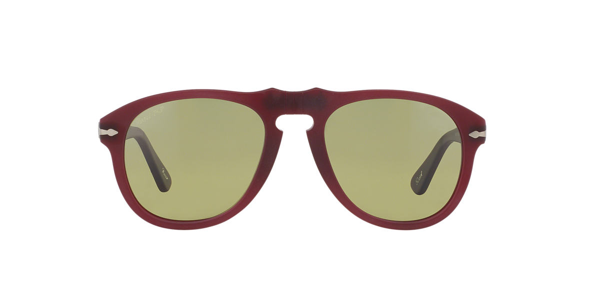 PERSOL Red PO0649 54 Green polarized lenses 54mm