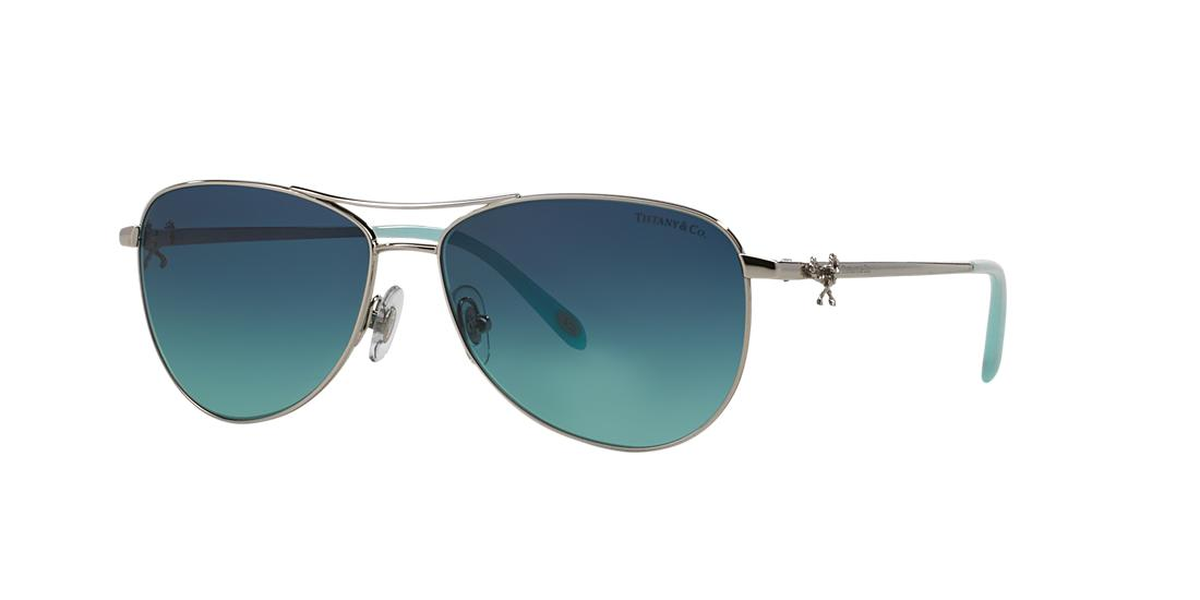 cd732048a838 Silver Aviator Sunglasses - tf3044