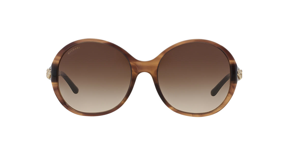 BVLGARI SUN Brown BV8140B 56 Brown lenses 56mm