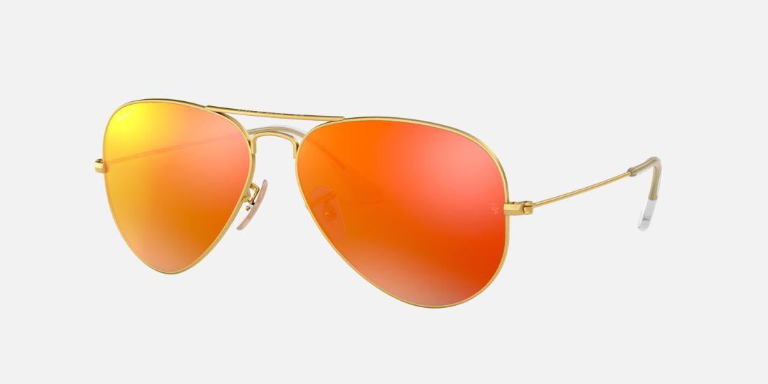 Ray Ban Orange Frame