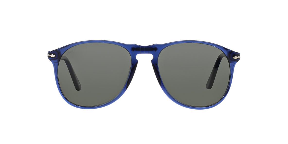PERSOL Blue PO9649S (52) Green polarised lenses 52mm