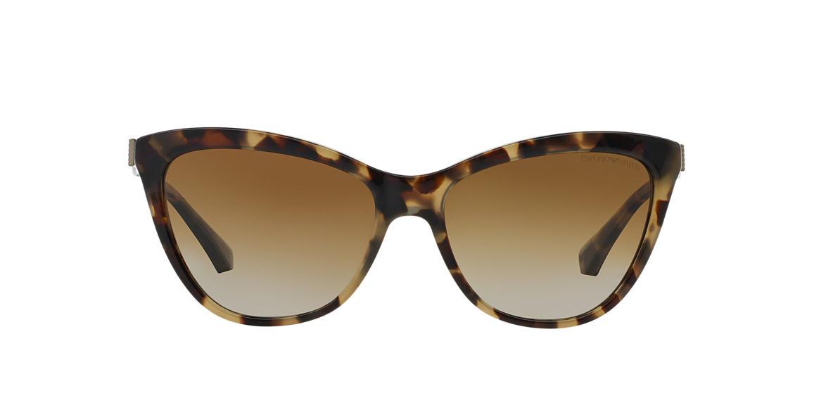 EMPORIO ARMANI Tortoise EA4030 57 Brown polarized lenses 57mm