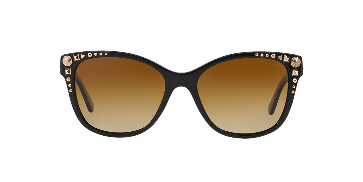 VERSACE Black VE4270 56 Brown polarized lenses 56mm