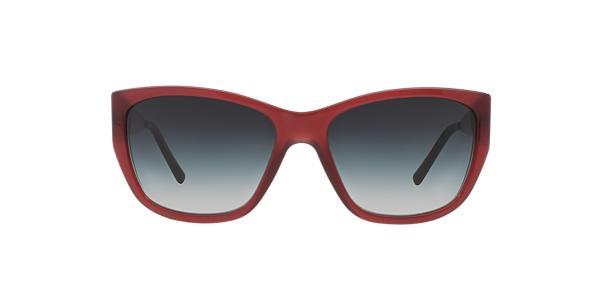 $74.99 Burberry BE4174 656 Grey & Burgundy Sunglasses