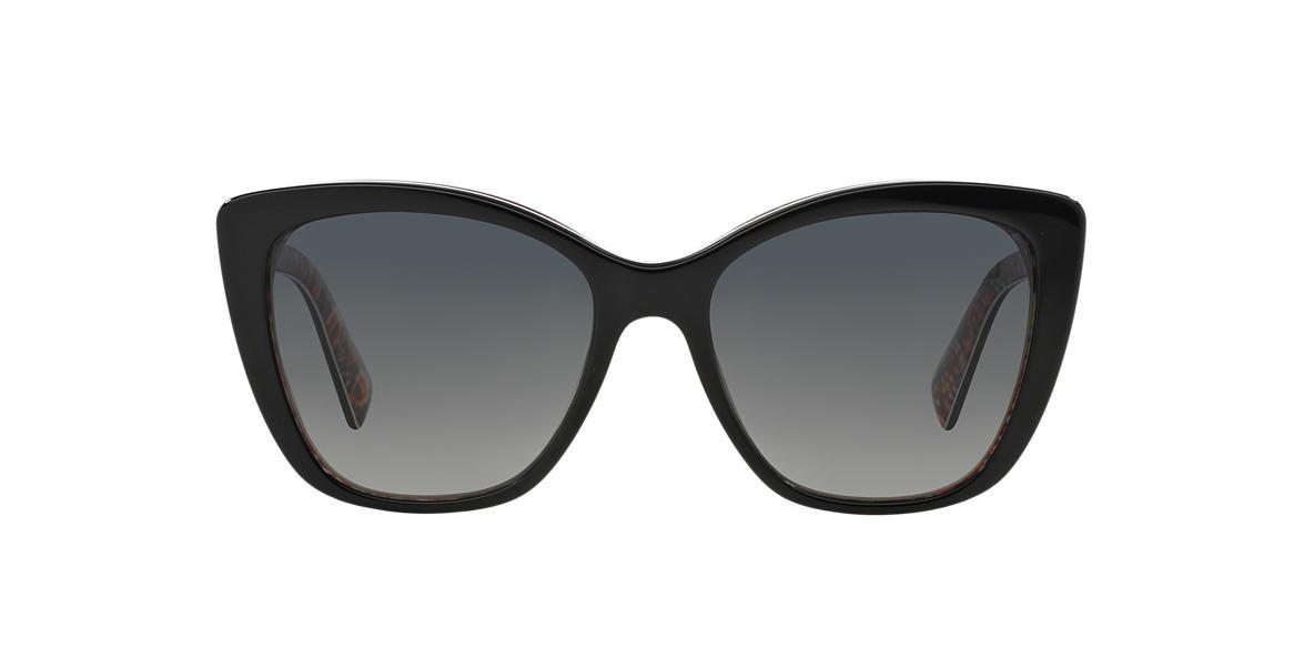 DOLCE and GABBANA Black DG4216 Grey polarized lenses 55mm