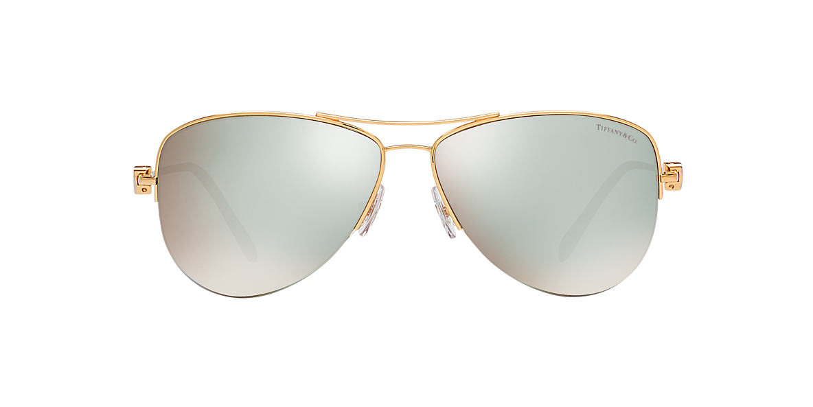 TIFFANY Gold TF3021 60 Blue lenses 60mm