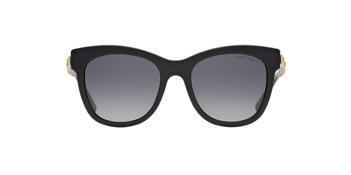 GIORGIO ARMANI Black AR8011 Grey polarized lenses 53mm