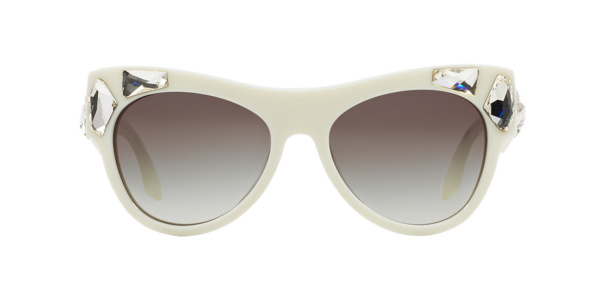 PRADA Ivory PR 22QS 56 Grey lenses 56mm