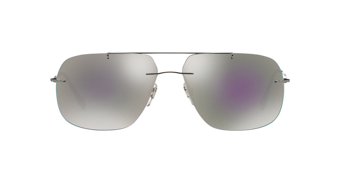PRADA LINEA ROSSA Gunmetal PS 55PS 60 Grey lenses 60mm