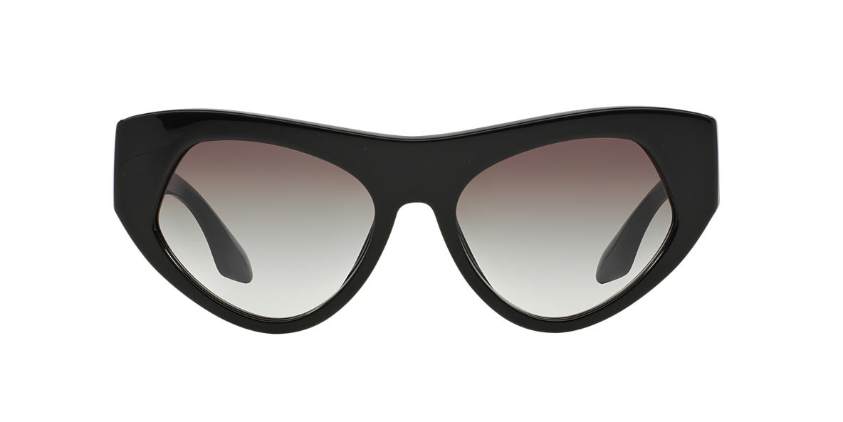 PRADA Black PR 27QS 56 Grey lenses 56mm