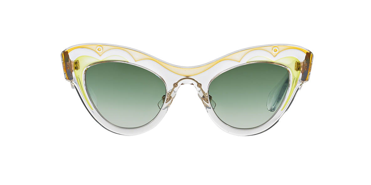 MIU MIU Green MU 07PS 49 Green lenses 49mm