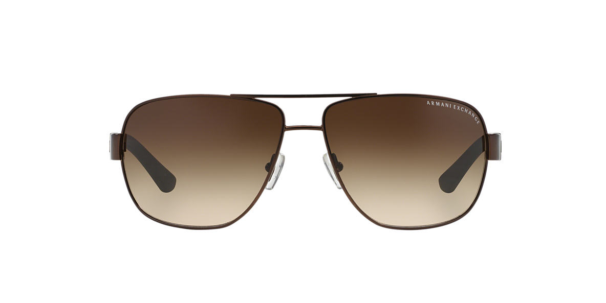 ARMANI EXCHANGE Brown AX2012S Grey lenses 62mm