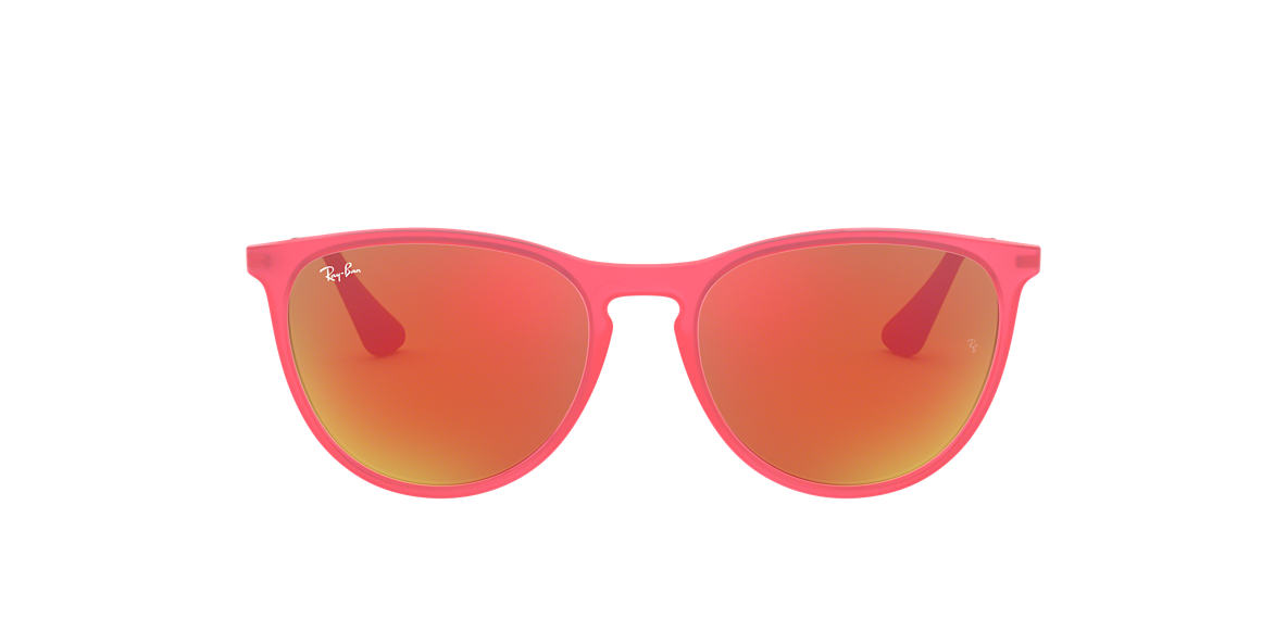 RAY-BAN CHILDRENS Pink RJ9060S 50 Orange lenses 50mm