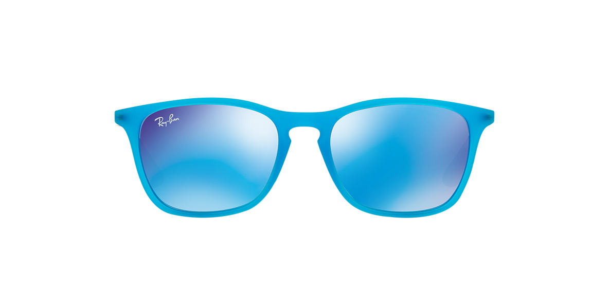 RAY-BAN CHILDRENS Blue RJ9061S 49 Green lenses 49mm