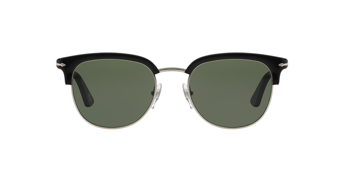 PERSOL Black PO3105S 51 Green lenses 51mm