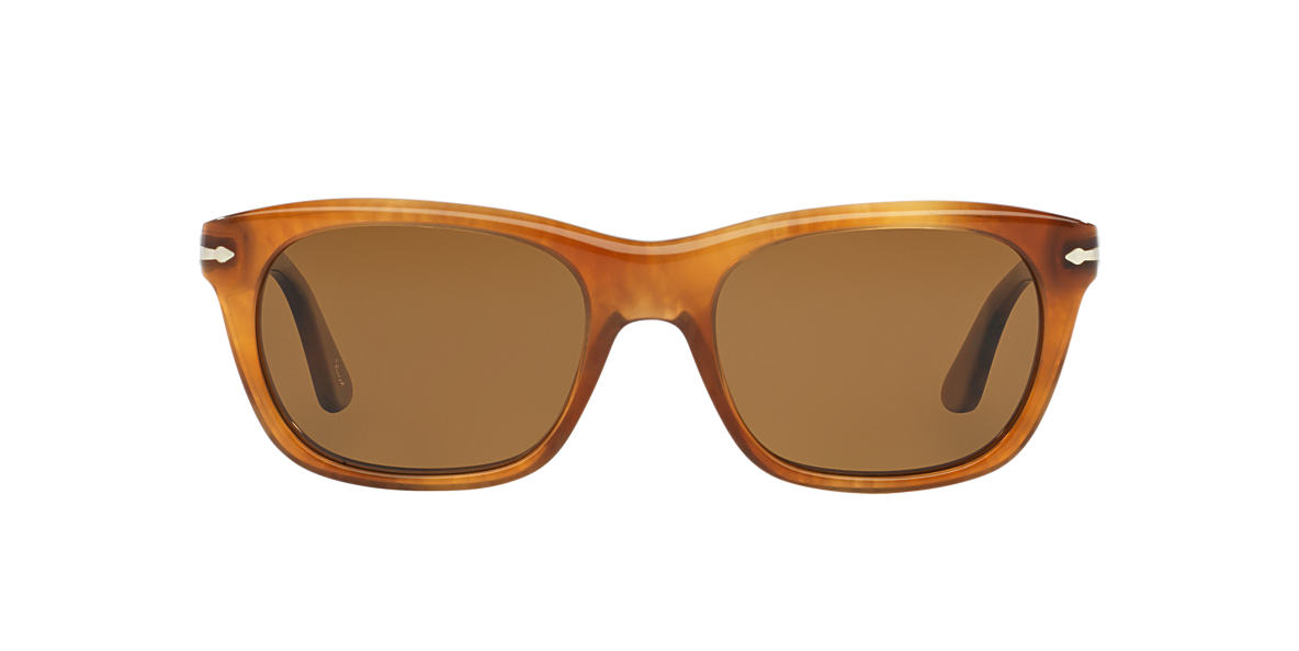 PERSOL Tortoise PO3101S 57 Brown polarized lenses 57mm
