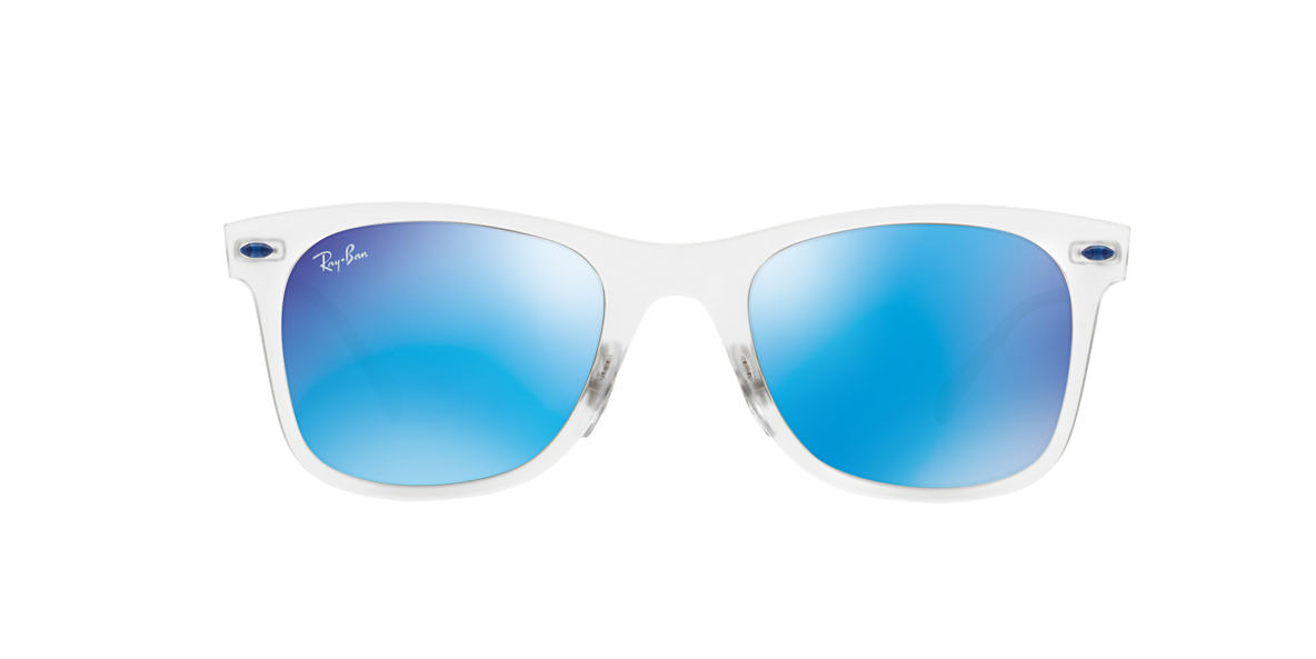 RAY-BAN Clear RB4210 50 LIGHT RAY Blue lenses 50mm