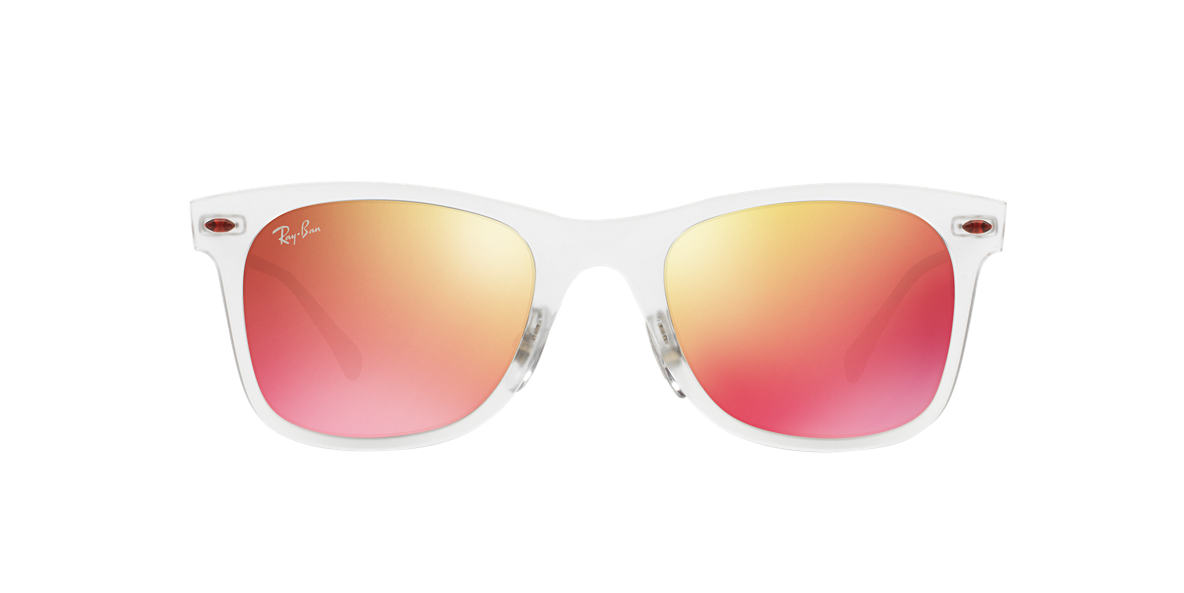 RAY-BAN Clear RB4210 50 LIGHT RAY Orange lenses 50mm