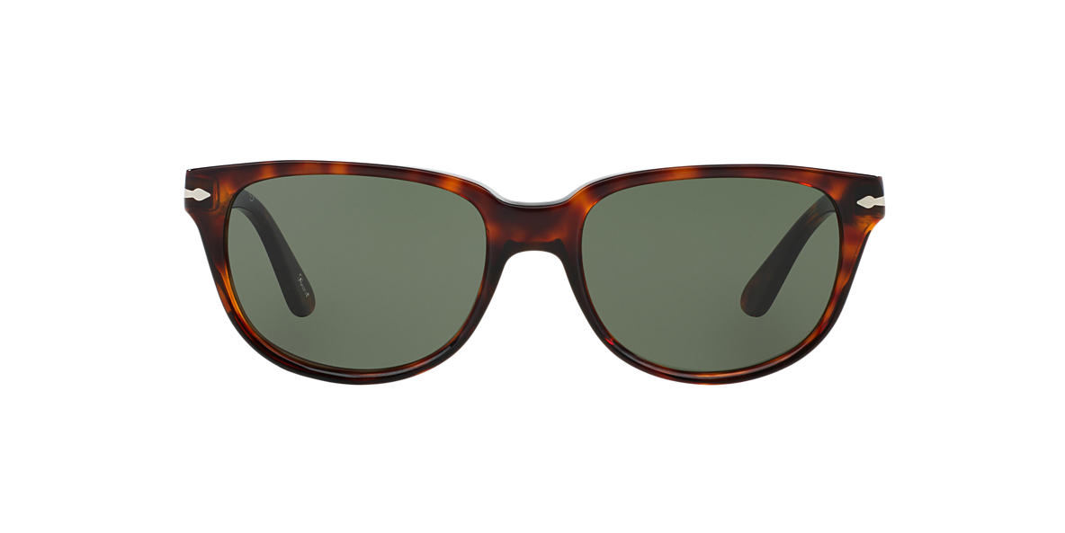 PERSOL Brown PO3104S 57 Green lenses 57mm