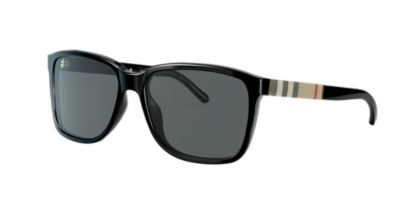 shades and glasses  Burberry BE4181 58 Grey \u0026 Black Sunglasses