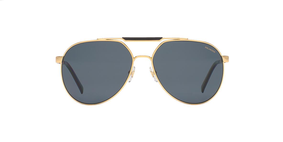 VERSACE Gold VE2155 59 Grey polarized lenses 59mm