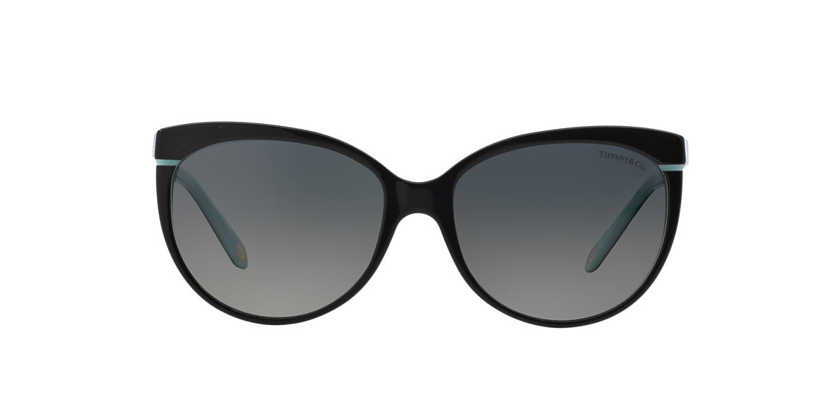 TIFFANY Black TF4097 56 Grey polarized lenses 56mm