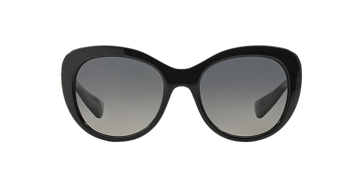 DOLCE AND GABBANA Black DG6090 54 Grey polarised lenses 54mm