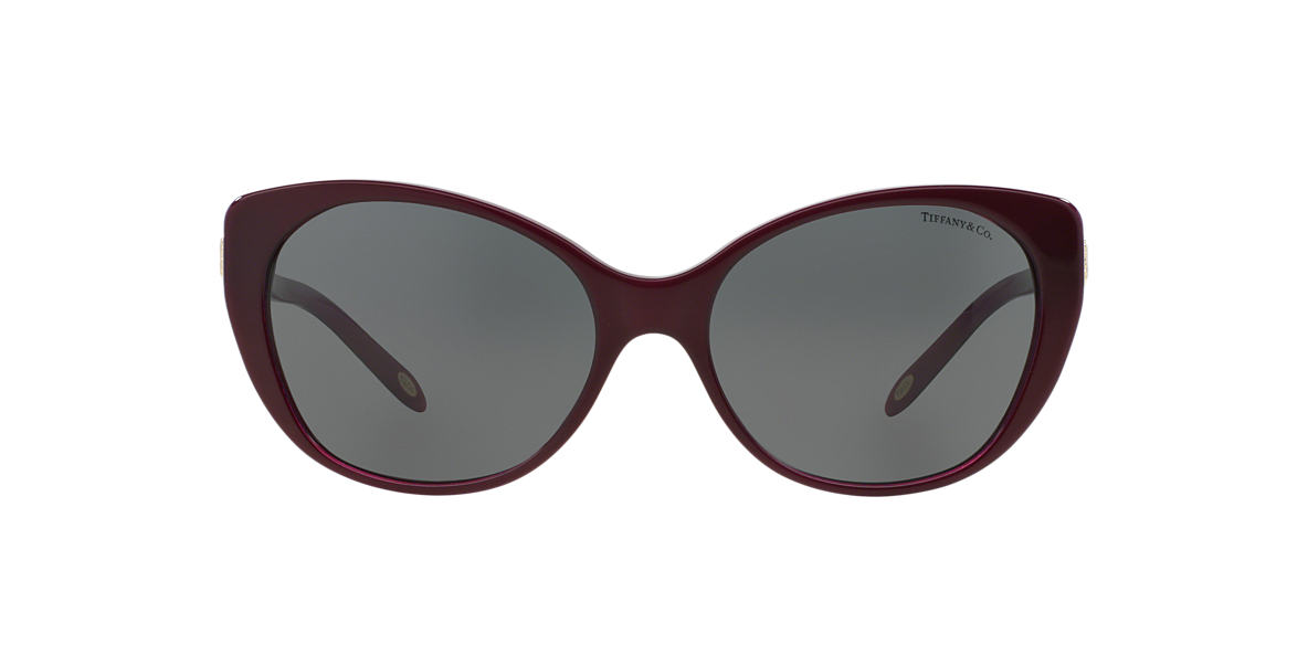 TIFFANY Burgundy TF4099H 57 Grey lenses 57mm