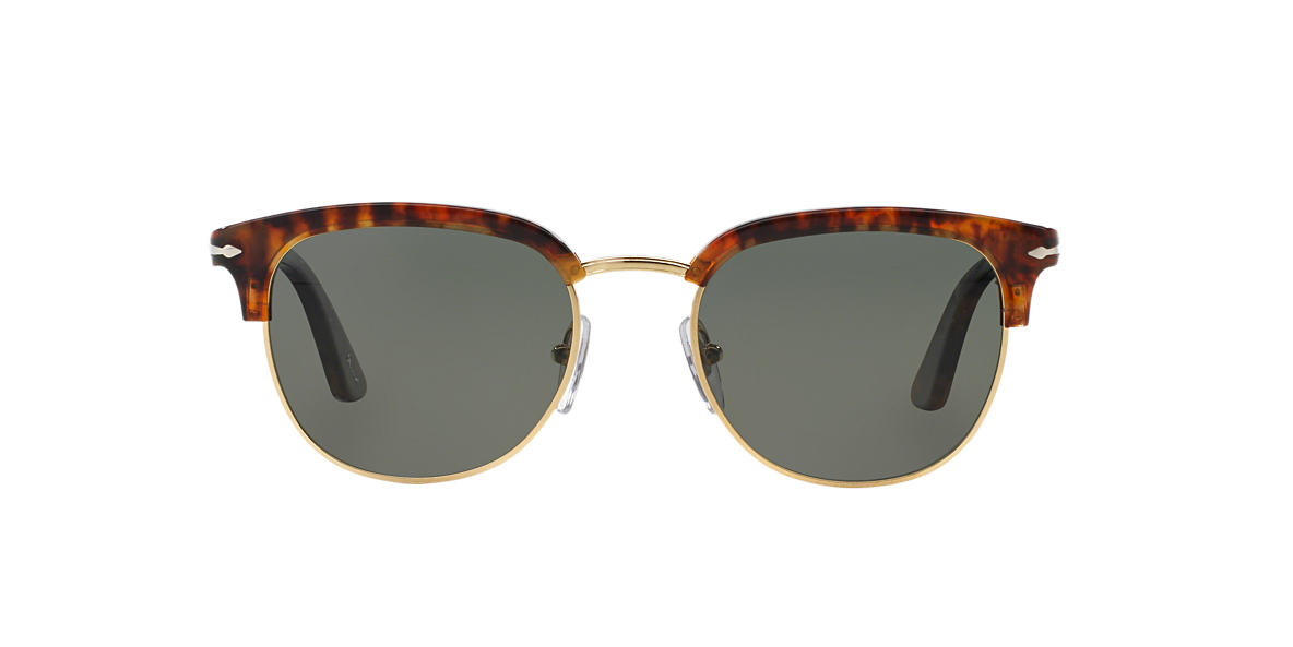 PERSOL Tortoise PO3105S 51 Green polarized lenses 51mm