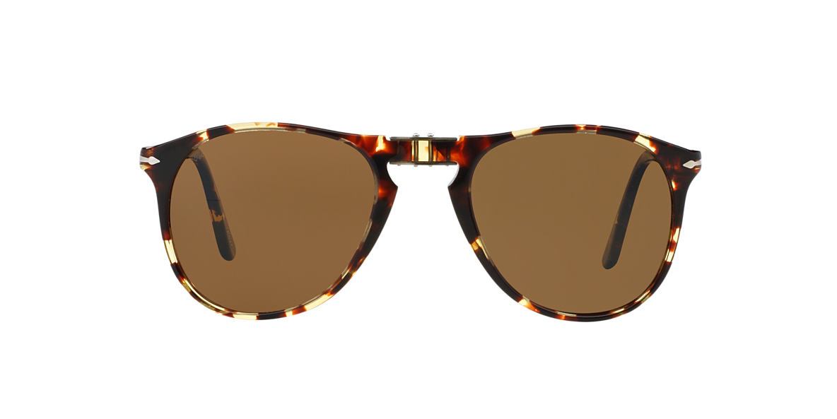 PERSOL Brown PO9714S 55 Brown polarized lenses 55mm
