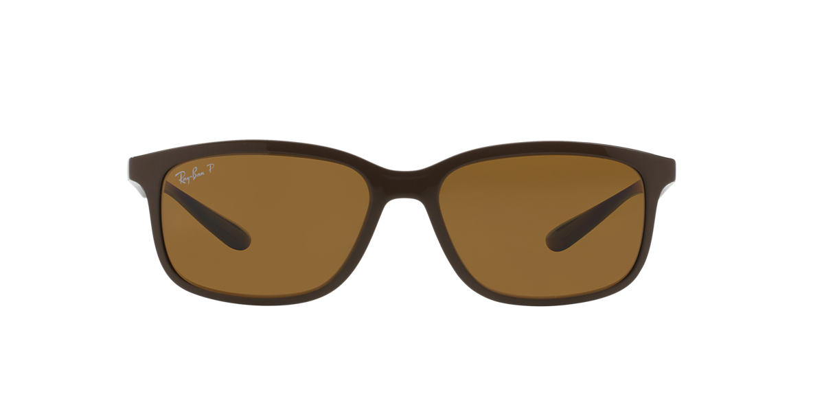 RAY-BAN Brown RB4215 57 Brown polarized lenses 57mm