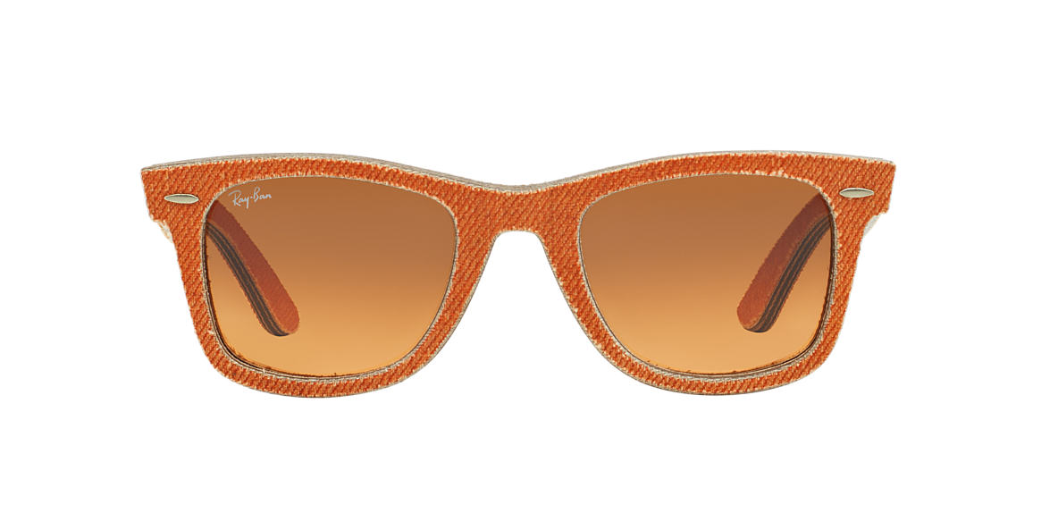RAY-BAN Orange RB2140 50 ORIGINAL WAYFARER Orange lenses 50mm