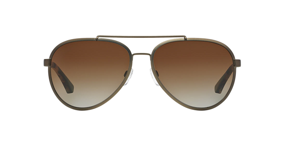 EMPORIO ARMANI Bronze Matte EA2024 58 Brown polarized lenses 58mm