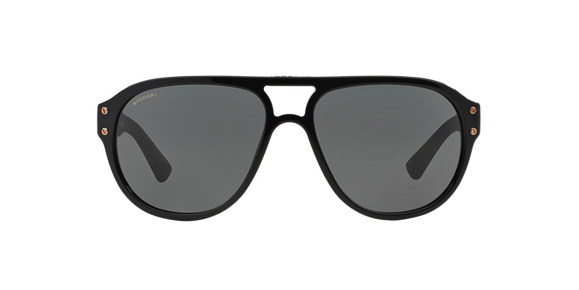 BVLGARI Black BV7021 Grey lenses 59mm