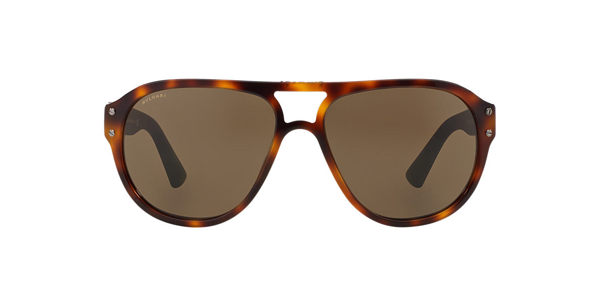 BVLGARI SUN Tortoise BV7021 59 Brown lenses 59mm