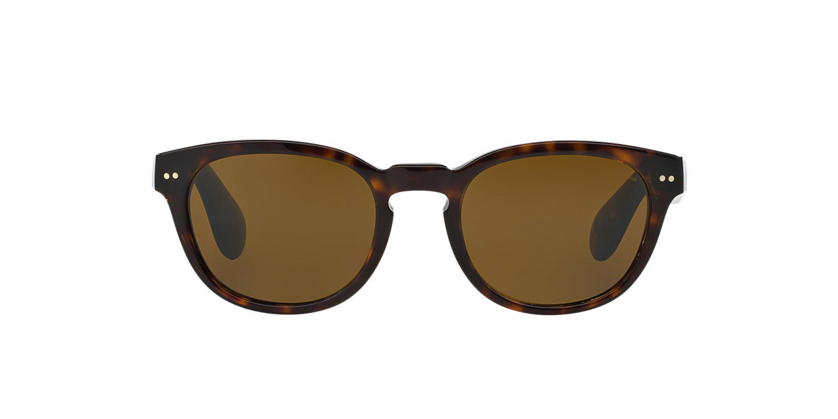 RALPH LAUREN Black RL8130P 50 Brown lenses 50mm