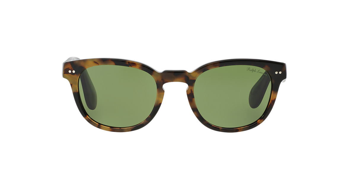 RALPH LAUREN Black RL8130P 50 Green lenses 50mm