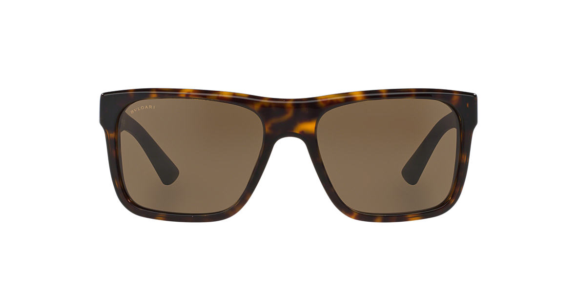BVLGARI SUN Tortoise BV7022 57 Brown lenses 57mm