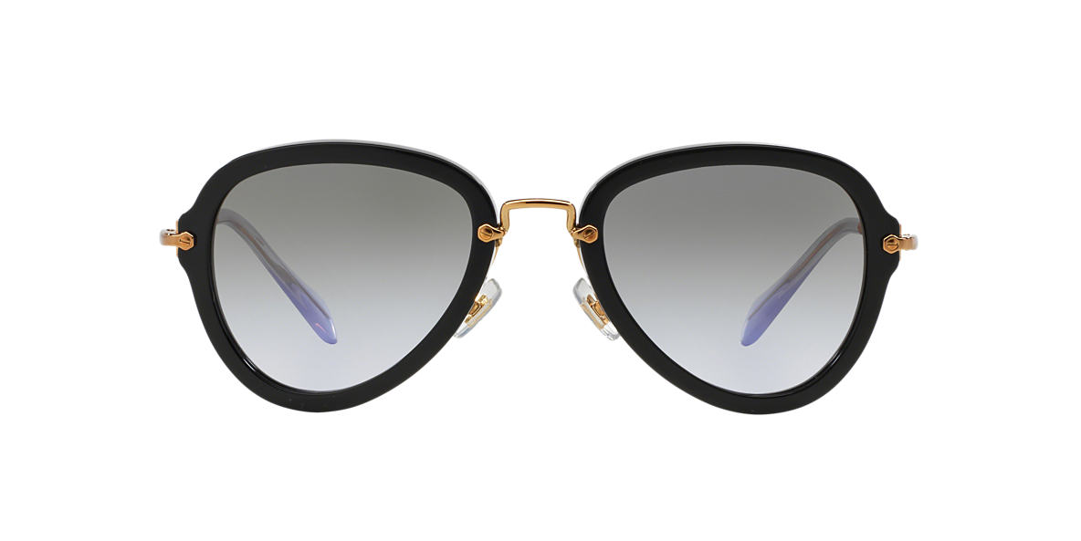 MIU MIU Black MU 03QS 55 Purple lenses 55mm