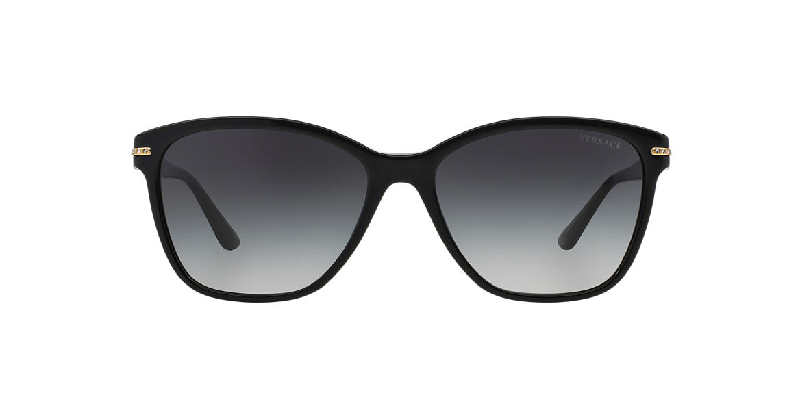 VERSACE Black VE4290B 57 Grey lenses 57mm