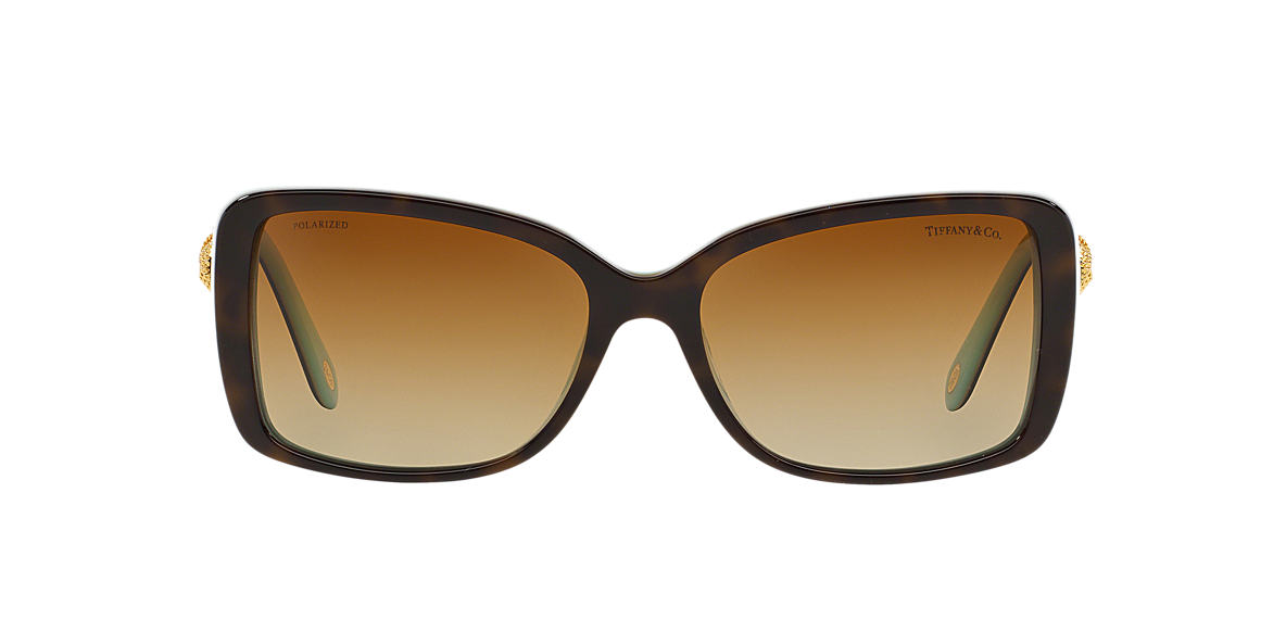 TIFFANY Tortoise TF4102 56 Brown polarized lenses 56mm