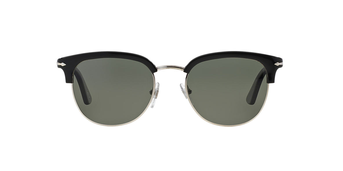 PERSOL Black PO3105S 51 Green polarised lenses 51mm